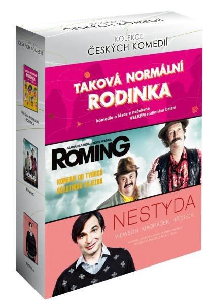 Kolekce Českých komedií (Taková normální rodinka, Roming, Nestyda) - 3xDVD