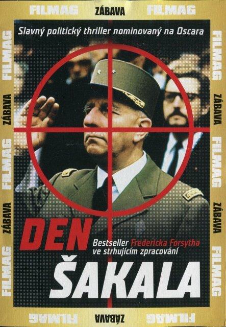 Den Šakala (DVD) (papírový obal)