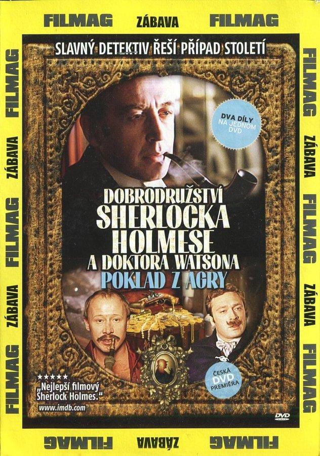 Dobrodružství Sherlocka Holmese a doktora Watsona: Poklad z Agry (DVD) (papírový obal)