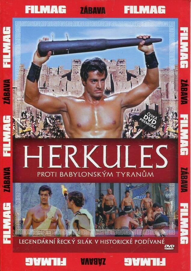 Herkules proti babylonským tyranům (DVD) (papírový obal)
