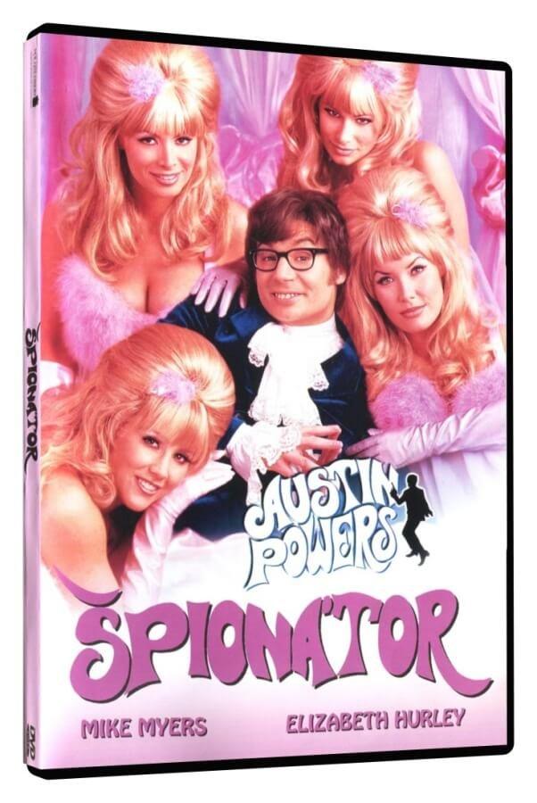 Austin Powers: Špionátor (DVD)