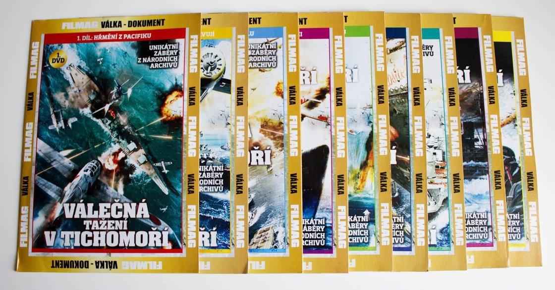 Válečná tažení v Tichomoří kolekce (1-9) (9 DVD) (papírový obal)