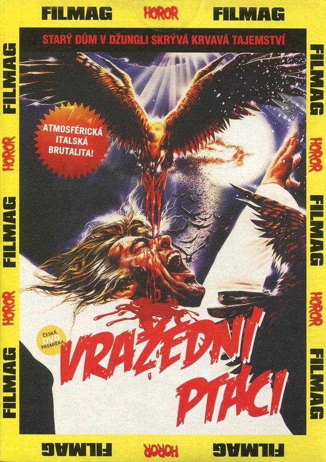 Vražední ptáci (DVD) (papírový obal)