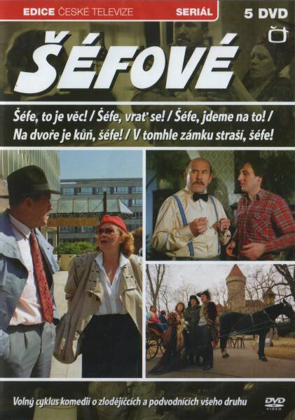 Šéfové (5 DVD) - Seriál