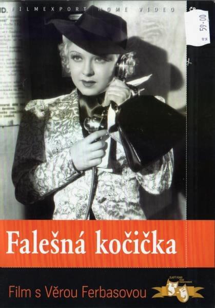 Falešná kočička - Věra Ferbasová (1937) (DVD) (papírový obal)