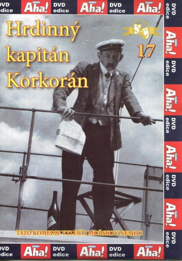 Hrdinný kapitán Korkorán (DVD) (papírový obal)