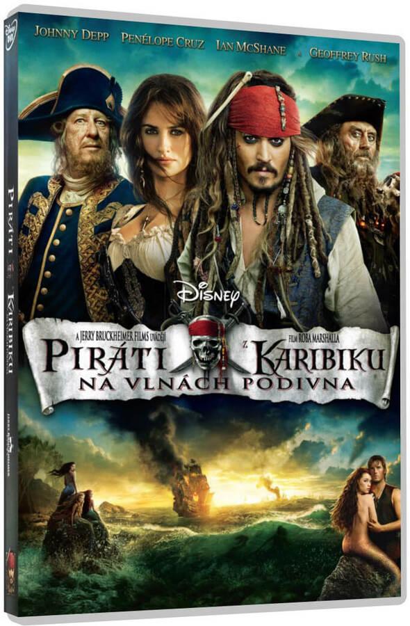Piráti z Karibiku: Na vlnách podivna (Johnny Depp) (DVD)