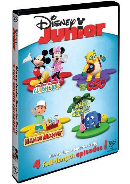 Disney Junior: Příběhy s překvapením (DVD)