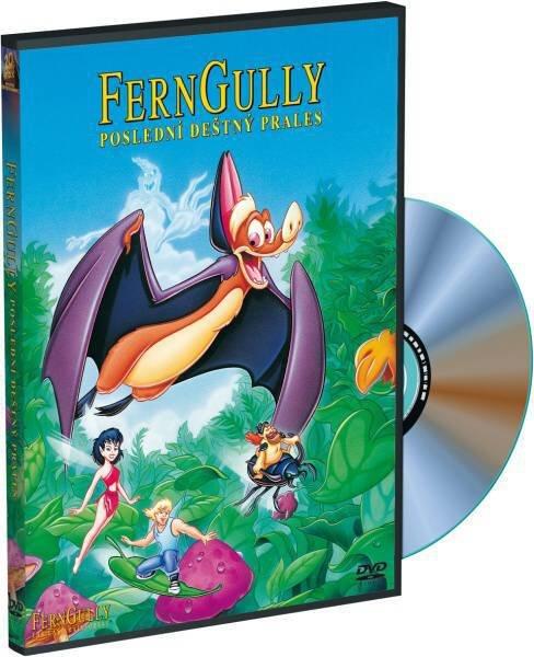 Ferngully - Poslední deštný prales (DVD)