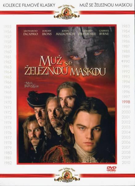 Muž se železnou maskou (DVD) - kolekce filmové klasiky