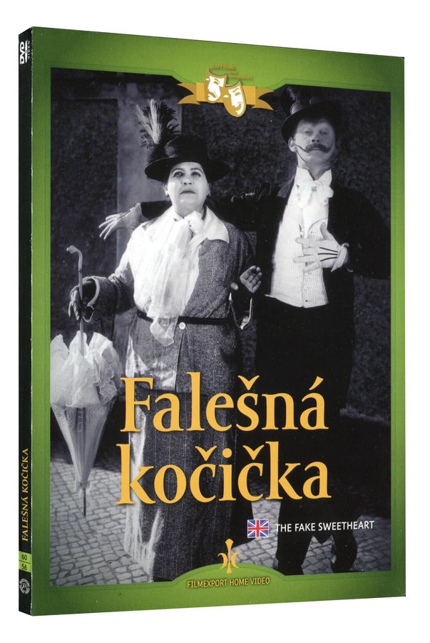 Falešná kočička (1926) (DVD) - digipack