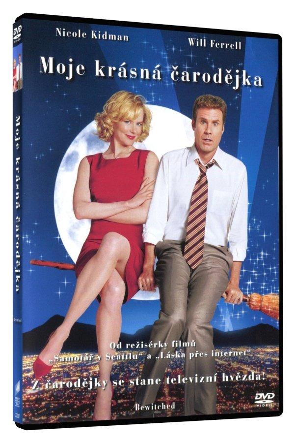 Moje krásná čarodějka (DVD)