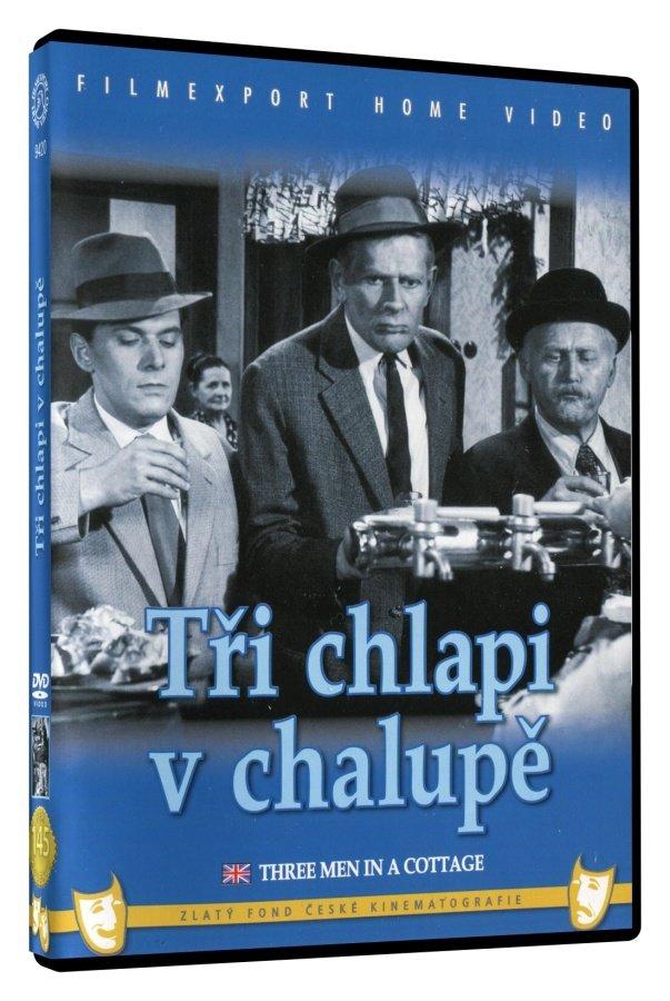 Tři chlapi v chalupě (DVD)