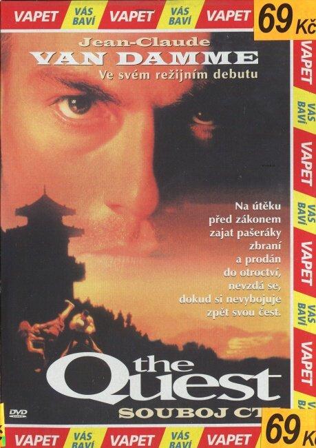 Quest - Souboj cti (DVD) (papírový obal)