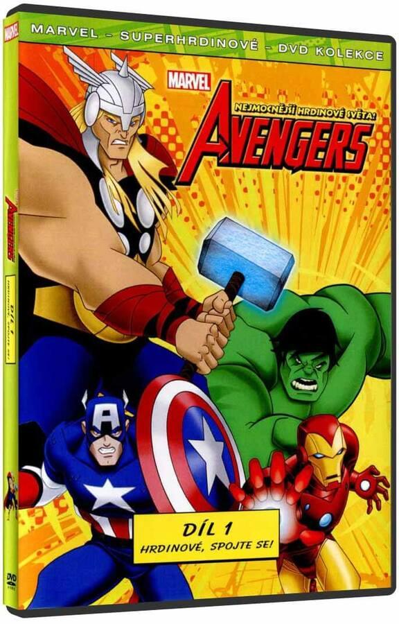 The Avengers: Nejmocnější hrdinové světa 1 (DVD)