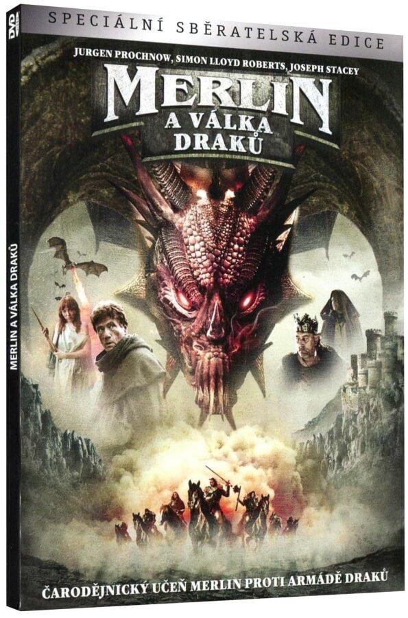 Merlin a válka draků (DVD)