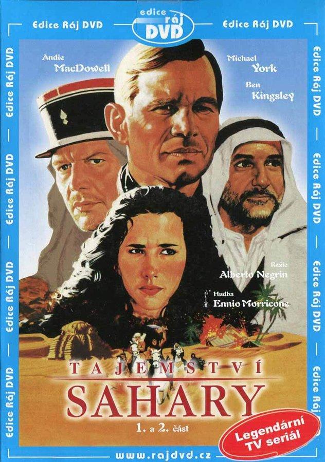 Tajemství Sahary - 1. a 2. část (DVD) (papírový obal)