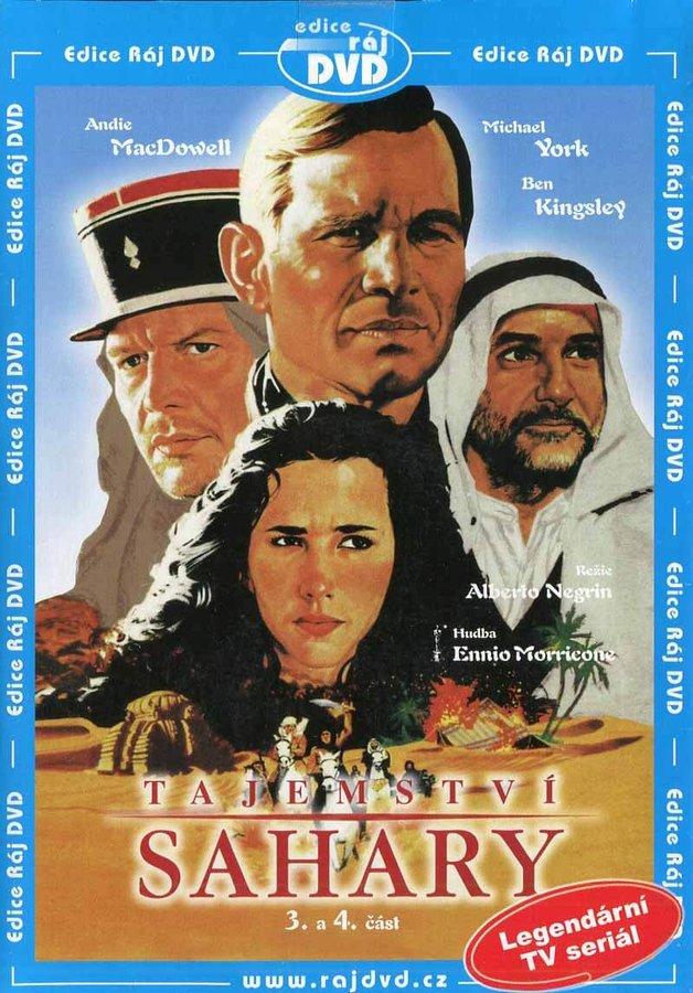 Tajemství Sahary - 3. a 4. část (DVD) (papírový obal)