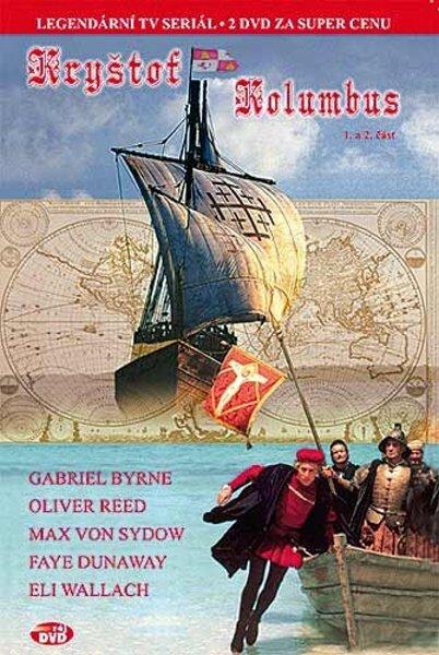 Kryštof Kolumbus - 1. a 2. část - (Gabriel Byrne, Oliver Reed, Max von Sydow) (DVD) (papírový obal)