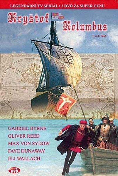 Kryštof Kolumbus - 3. a 4. část - (Gabriel Byrne, Oliver Reed, Max von Sydow) (DVD) (papírový obal)
