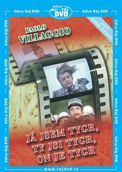 Já jsem tygr, ty jsi tygr, on je tygr (Paolo Villaggio) (DVD) (papírový obal)