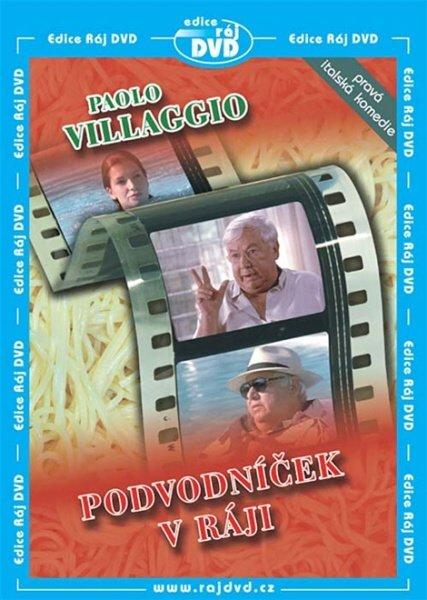 Podvodníček v ráji (Paolo Villaggio) (DVD) (papírový obal)