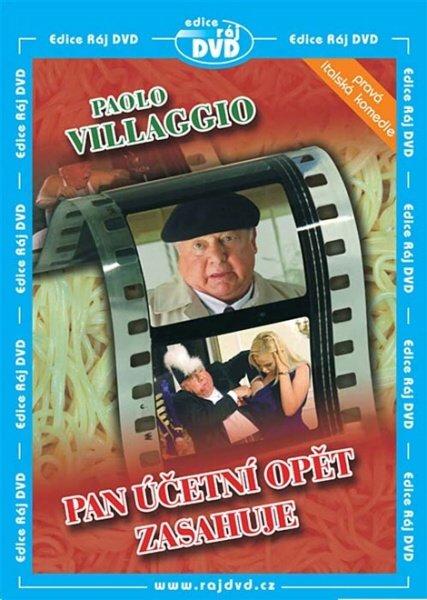 Pan účetní opět zasahuje (Paolo Villaggio) (DVD) (papírový obal)