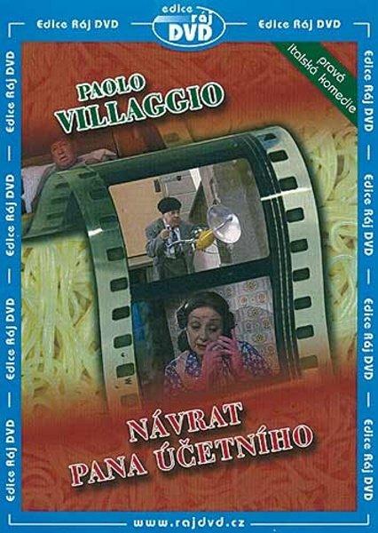 Návrat pana účetního (Paolo Villaggio) (DVD) (papírový obal)
