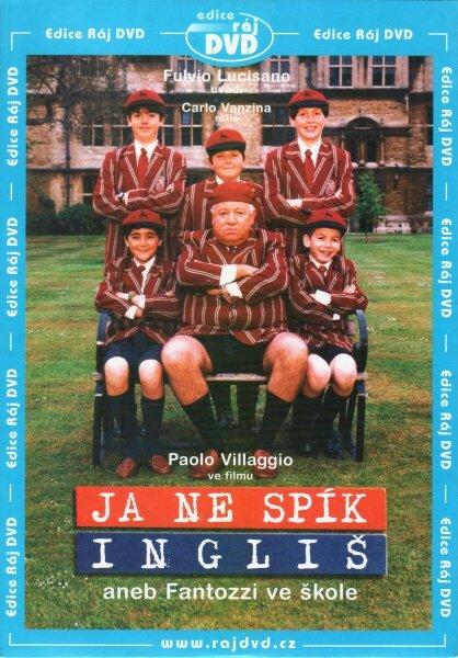 Ja ne spík Ingliš aneb Fantozzi ve škole (Paolo Villaggio) (DVD) (papírový obal)