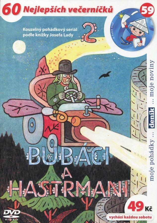 Bubáci a hastrmani 2 (papírový obal) (DVD)