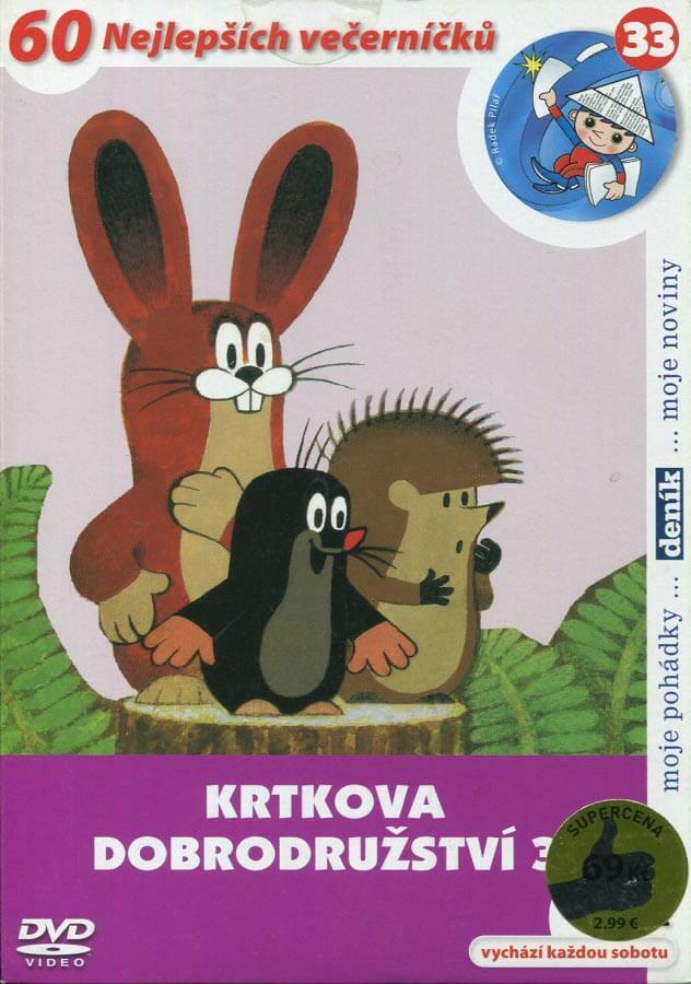 Krtkova dobrodružství 3 (DVD) (papírový obal)
