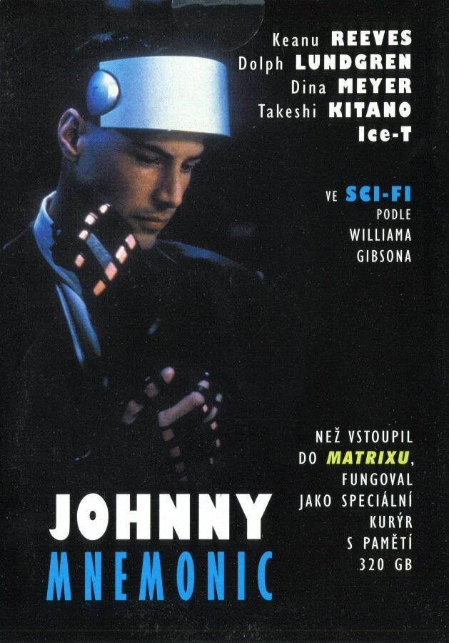 Johnny Mnemonic (DVD) (papírový obal)