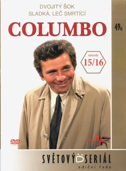 Columbo (Peter Falk) (DVD) - 15.+16. díl (papírový obal)