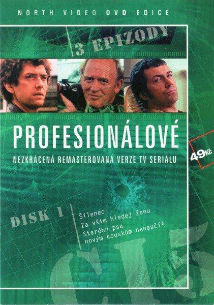 Profesionálové - DVD 01 (3 díly) - nezkrácená remasterovaná verze (papírový obal)