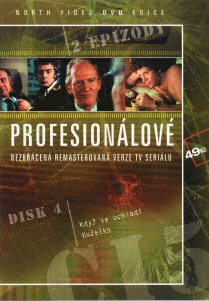 Profesionálové - DVD 04 (2 díly) - nezkrácená remasterovaná verze (papírový obal)