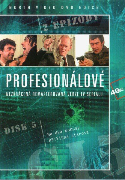 Profesionálové - DVD 05 (2 díly) - nezkrácená remasterovaná verze (papírový obal)