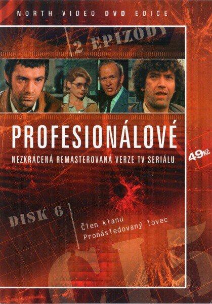 Profesionálové - DVD 06 (2 díly) - nezkrácená remasterovaná verze (papírový obal)