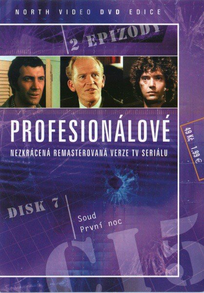 Profesionálové - DVD 07 (2 díly) - nezkrácená remasterovaná verze (papírový obal)