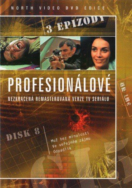 Profesionálové - DVD 08 (3 díly) - nezkrácená remasterovaná verze (papírový obal)