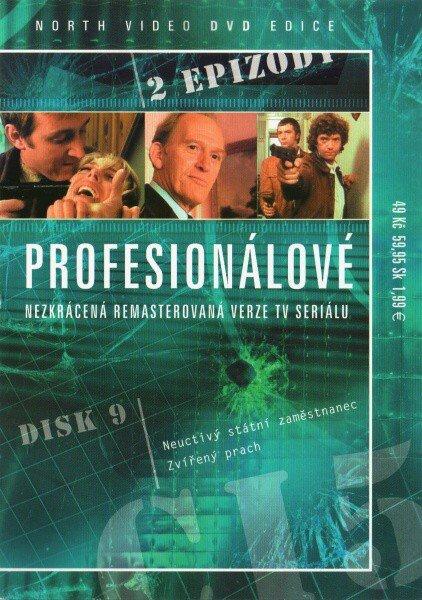 Profesionálové - DVD 09 (2 díly) - nezkrácená remasterovaná verze (papírový obal)