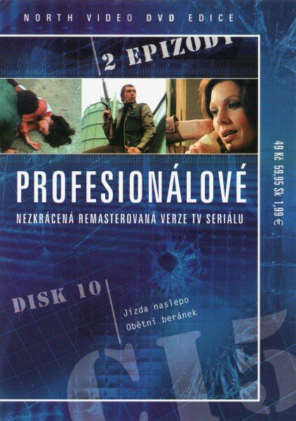 Profesionálové - DVD 10 (2 díly) - nezkrácená remasterovaná verze (papírový obal)