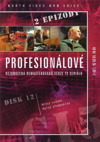 Profesionálové - DVD 12 (2 díly) - nezkrácená remasterovaná verze (papírový obal)