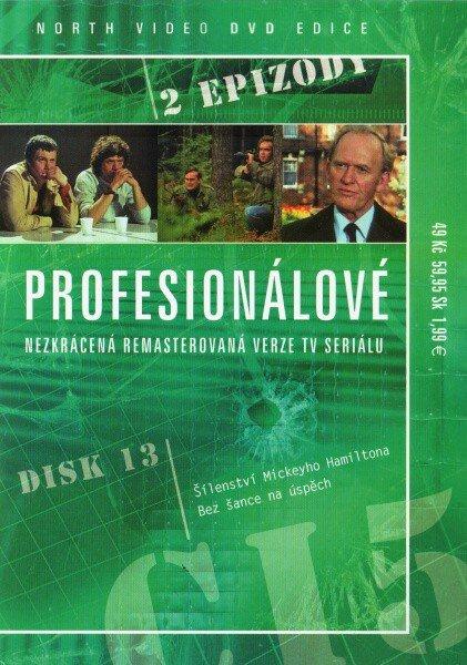 Profesionálové - DVD 13 (2 díly) - nezkrácená remasterovaná verze (papírový obal)
