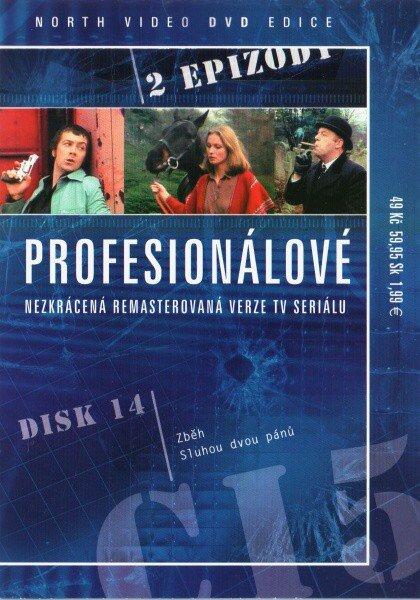 Profesionálové - DVD 14 (2 díly) - nezkrácená remasterovaná verze (papírový obal)