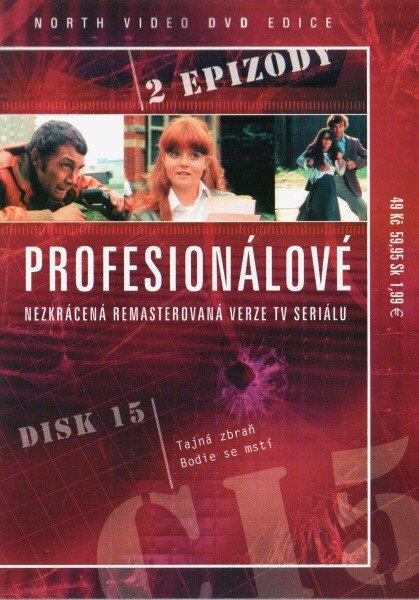 Profesionálové - DVD 15 (2 díly) - nezkrácená remasterovaná verze (papírový obal)