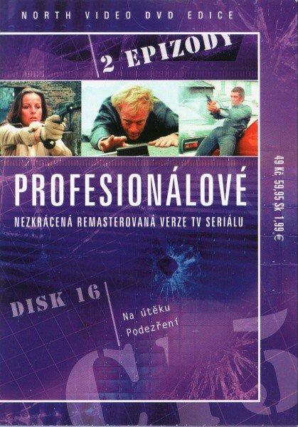 Profesionálové - DVD 16 (2 díly) - nezkrácená remasterovaná verze (papírový obal)