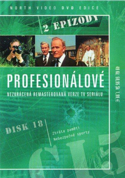 Profesionálové - DVD 18 (2 díly) - nezkrácená remasterovaná verze (papírový obal)