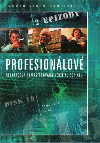 Profesionálové - DVD 19 (2 díly) - nezkrácená remasterovaná verze (papírový obal)