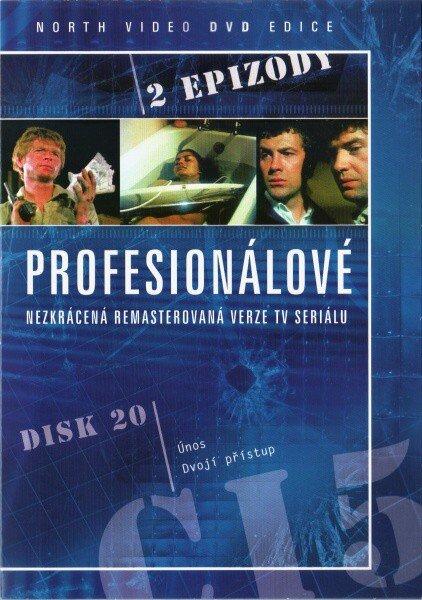 Profesionálové - DVD 20 (2 díly) - nezkrácená remasterovaná verze (papírový obal)