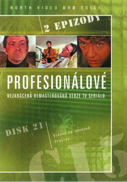 Profesionálové - DVD 21 (2 díly) - nezkrácená remasterovaná verze (papírový obal)